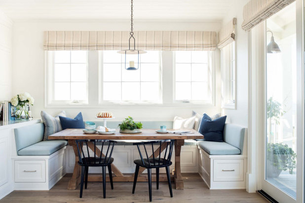 Beach Style Dining Room by White Sands Coastal Development