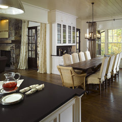 traditional dining room by Summerour Architects