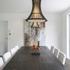 Contemporary Dining Room by Capital Building