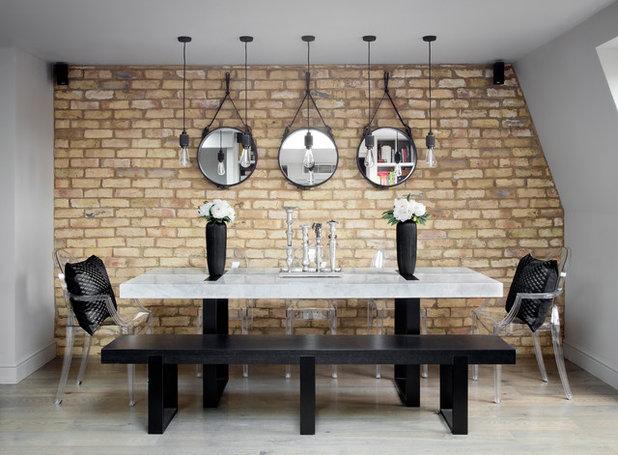 Contemporary Dining Room by Casa Botelho