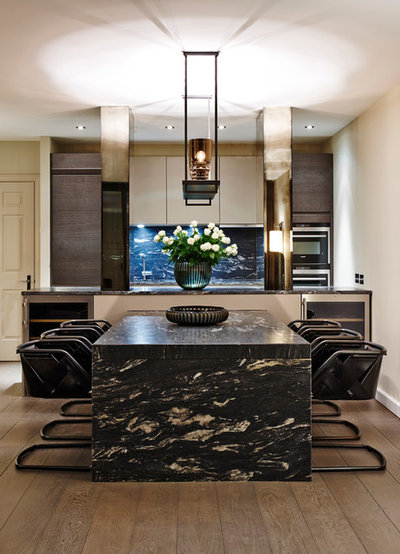Contemporary Dining Room by Keir Townsend