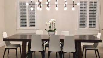South Miami Residence, Transitional - Modern Dining Room