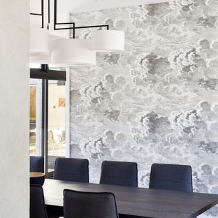 18 Beautiful Wallpaper Dining Room Pictures Ideas November 2020 Houzz
