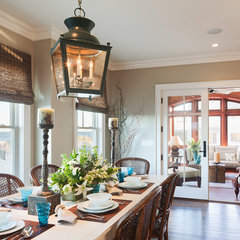 traditional dining room by Richard Bubnowski Design LLC