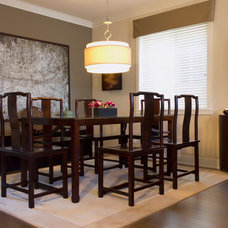 Asian Dining Room by ZWADA home