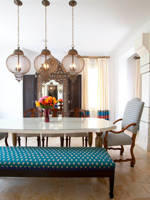 SaveEmail - Moroccan Dining Room Houzz