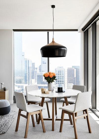 Contemporary Dining Room by Berkeley Interiors