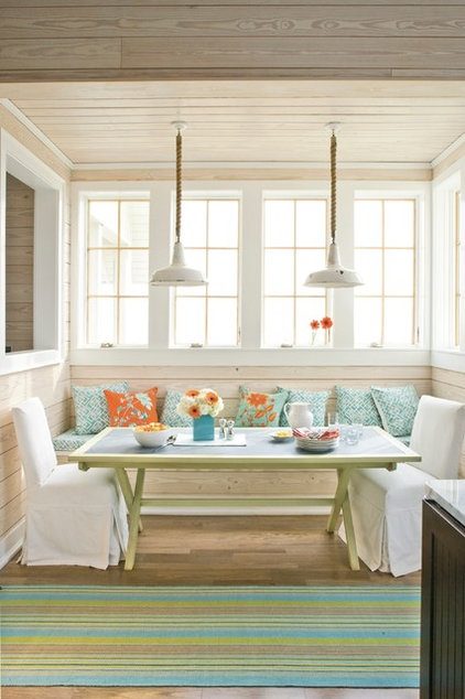Beach Style Dining Room by Southern Living