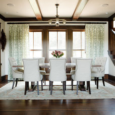 Traditional Dining Room by Caitlin Wilson
