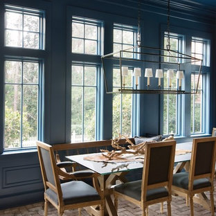 75 Beautiful Dining Room With Blue Walls Pictures U0026 Ideas ...