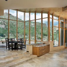 Southwestern Dining Room by Soloway Designs Inc | Architecture + Interiors