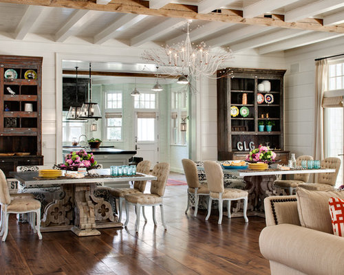 Inspiration For A Farmhouse Dining Room Remodel In Milwaukee