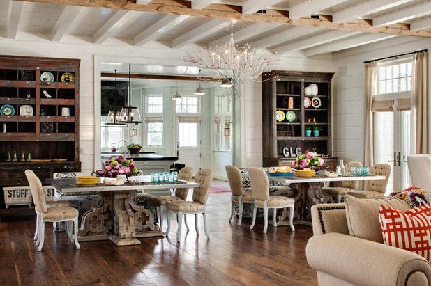 Farmhouse Dining Room by David Bader Photography