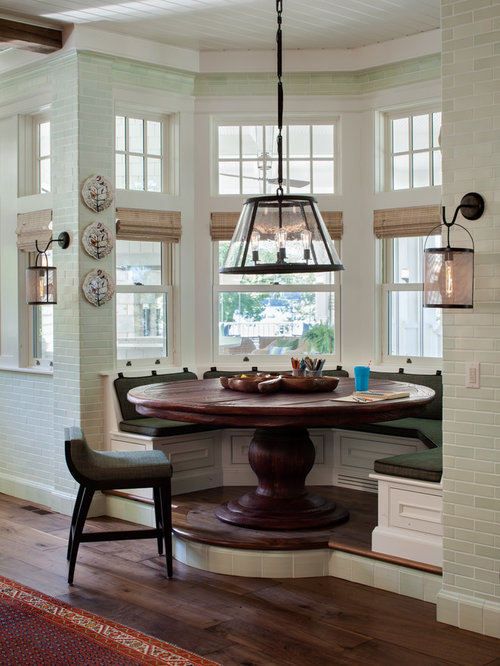 Breakfast nook light houzz Breakfast nook table