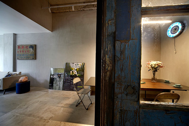 Industrial  Esszimmer by Free Space Intent