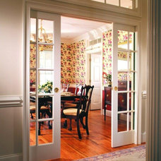 Contemporary Dining Room by Johnson Hardware