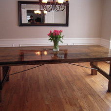 Traditional Dining Room by Sanford Customs