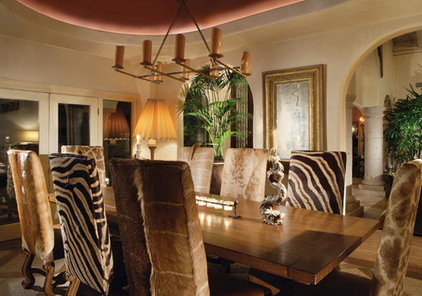 Traditional Dining Room by Wendy Black Rodgers Interiors