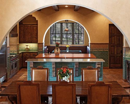Spanish Style Kitchen spanish-style kitchen   houzz