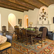Mediterranean Dining Room by Astleford Interiors, Inc.