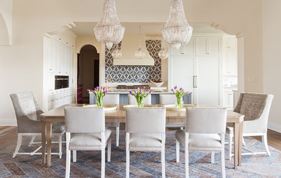 Houzz Tour: A Dark Spanish Colonial Goes Glam