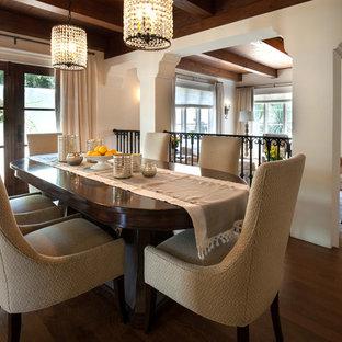 Spanish White Mediterranean Dining Room