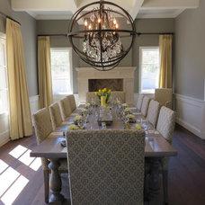 Craftsman Dining Room by Sage Luxury Homes