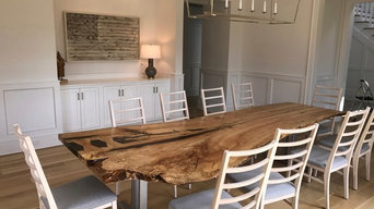 SPECIALITY SINGLE SLAB LIVE EDGE TABLES HIGH END FURNITURE