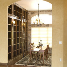 Mediterranean Dining Room by Radue Homes Inc.