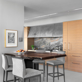 Example of a trendy dining room design in St Louis