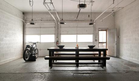 My Houzz: Metallo, Amore e Fai Dai Te in un Garage nello Utah