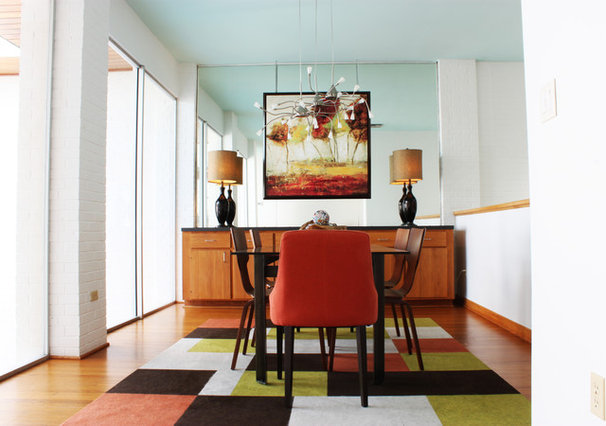 Contemporary Dining Room by Adam Breaux