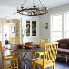 Transitional Dining Room by JAMES DIXON ARCHITECT PC