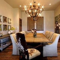 Contemporary Dining Room by Rachel Mast Design