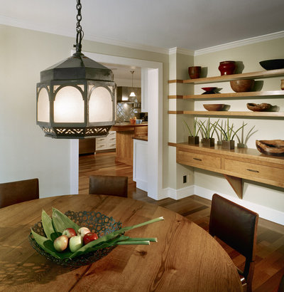Farmhouse Dining Room By LDa Architecture Interiors