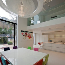 contemporary dining room by sporadicSPACE