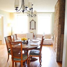 Farmhouse Dining Room by Amy Renea