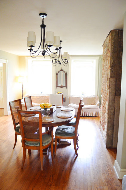 Farmhouse Dining Room by Amy Renea