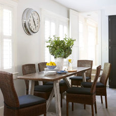 Beach Style Dining Room by threshold interiors