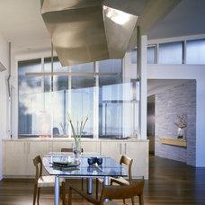 Contemporary Dining Room by Logue Studio Design Inc.