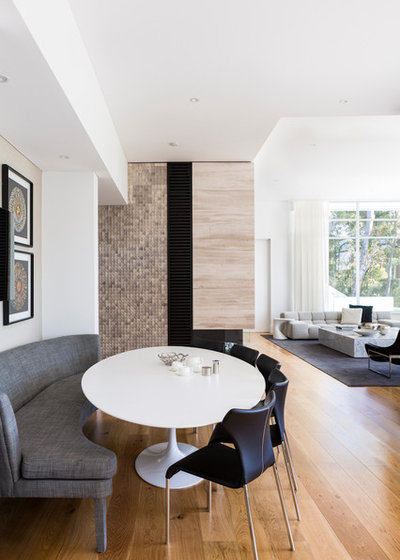 Contemporary Dining Room By DCruz Design Group Sydney Interior Designers