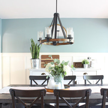 Springfield Industrial Farmhouse Dining Room
