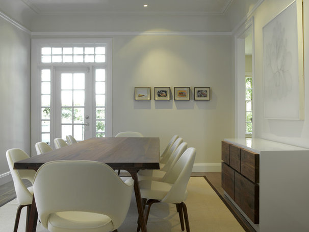 Contemporary Dining Room by Upscale Construction