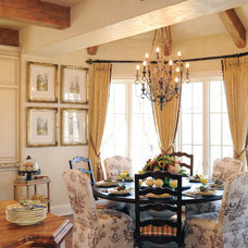 Traditional Dining Room by Rose Roberts Interior Design, Inc.