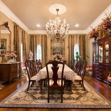 Traditional Dining Room by Custom Home Designs