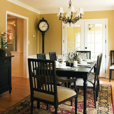 Traditional Dining Room by Anna Berglin Design