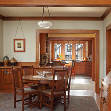 Craftsman Dining Room by David Heide Design Studio