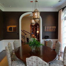Traditional Dining Room by Virginia W. Kelsey, AIA
