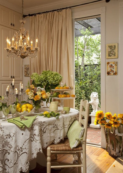 eclectic dining room by Stacey Costello Design