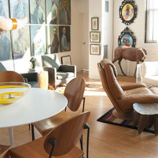 Eclectic Dining Room by Adrienne DeRosa